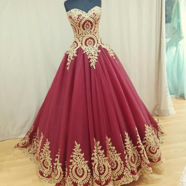 wine red wedding dress,burgundy wedding gowns,ball gown wedding dresses,bridal dress