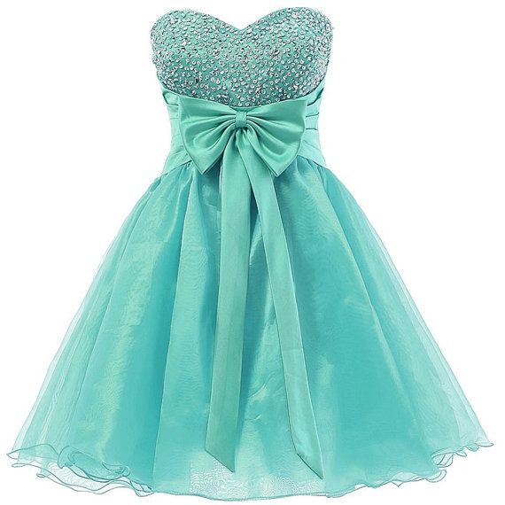Mint Green Homecoming Dress,Sparkle Homecoming Dresses,2016 Style ...